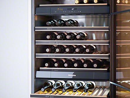Miele Kwt 6322 Ug Built Under Wine Storage Unit
