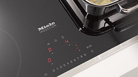 miele controls make cooking easy - Induction Cooktops