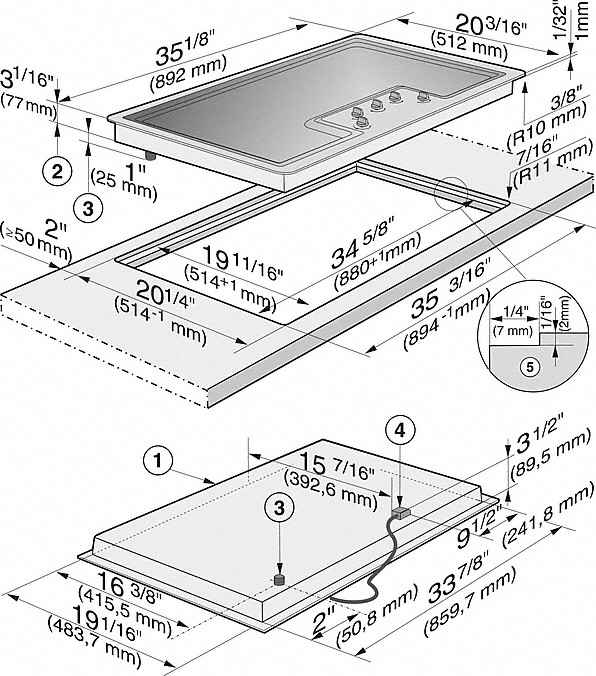 miele ceramic cooktop instructions