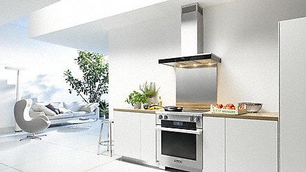 Kitchen Island Ventilation miele wall and island hoods