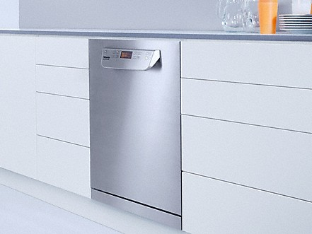 Perfect integration under countertops - Dishwashers