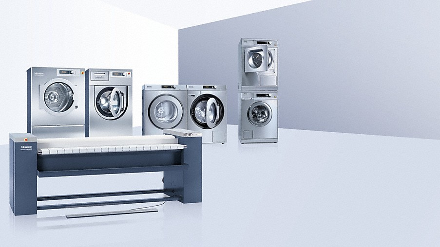 Miele professional washing machines tumble dryers ironers - Miele professional ...