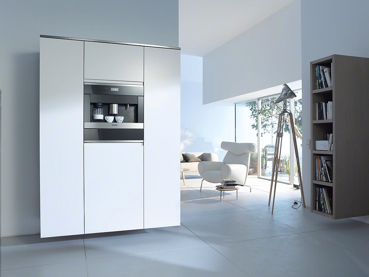Miele cva 6405 built in coffee machine for Kaffeemaschine miele