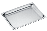 DGG 21 Unperforated steam oven pan