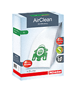 U AirClean 3D AirClean 3D Efficiency U dustbags