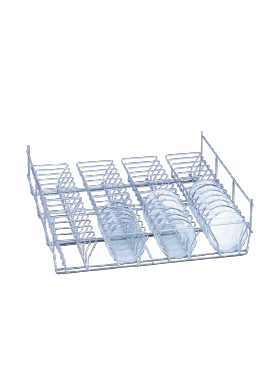 E 136 - Mesh Basket for optimum loading of 56 half petri dishes.--NO_COLOR