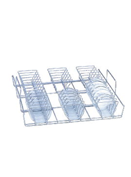 E 118 - Mesh Basket for the optimum loading of petri dishes.--NO_COLOR