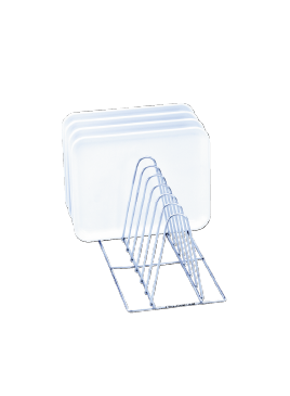 E 130 - Mesh Basket for the optimum loading of 10 trays.--stainless steel exterior