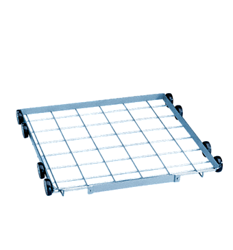 U 874/1 - Lower basket for the optimum loading of different inserts and mesh trays.--stainless steel exterior