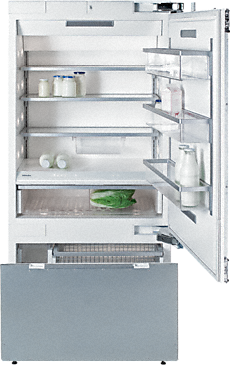 KF 1903 SF - MasterCool™ fridge-freezer with maximum storage space and high-quality features for exacting demands.--NO_COLOR
