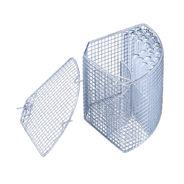 E 105/1 - Mesh Basket for the optimum loading of test tubes up to 12 x 165 mm.--NO_COLOR