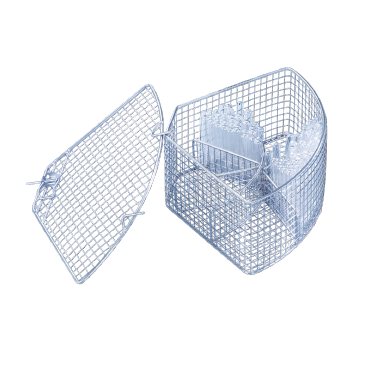 E 103/1 - Mesh Basket For the optimum loading of test tubes up to 12 x 75 mm.--NO_COLOR