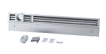KG1140SS - Lower plinth vent grill for high-end panelling of MasterCool™ plinths.--NO_COLOR