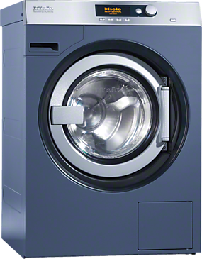 PW 5105 Vario [EL AV] - Washing machine, electric heating with suspended drum unit, shortest cycle time of 53min and drain valve.--Octoblue