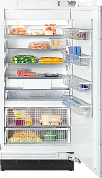 F 1903 Vi - MasterCool™ freezer with high-quality features and maximum storage space for increased convenience.--NO_COLOR