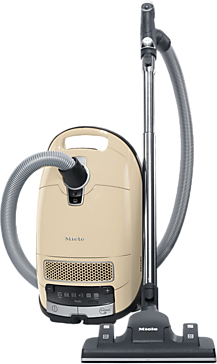 Complete C3 Alize PowerLine - SGJE0 - canister vacuum cleaners with HEPA filter for the greatest Filtration demands.--Ivory white