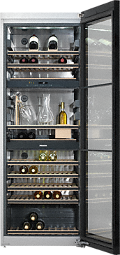 KWT 6832 SGS - Freestanding wine storage unit FlexiFrame and SommelierSet for the perfect enjoyment of your wine.--NO_COLOR