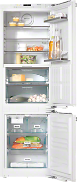 KFNS 37692 iDE-1 - PerfectCool fridge-freezer For that special look in the kitchen thanks to Perfect fresh Pro and FlexiLight.--