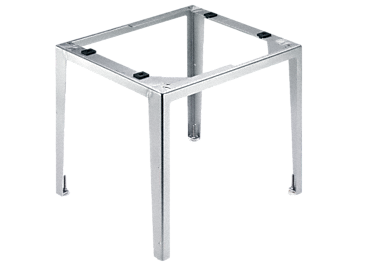 UO 52-60/80 - Plinth, open For the ergonomic loading and unloading of a dishwasher - height 52 in.--stainless steel exterior