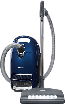 Complete C3 Marin PowerLine - SGJE0 - canister vacuum cleaners with electrobrush for thorough cleaning of heavy-duty carpeting.--Deep sea-blue metallic