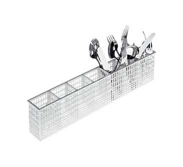 E 167 - Plastic cutlery holder For holding cutlery.--NO_COLOR