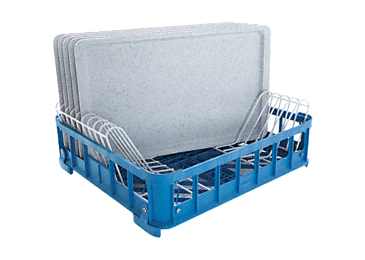 U 313/2 - Plastic basket For the optimum loading of trays.--NO_COLOR