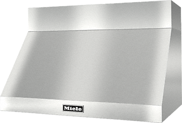 DAR 1230 - Wall ventilation hood for perfect combination with Ranges and Rangetops.--Stainless steel