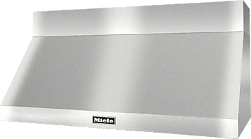 DAR 1250 - Wall ventilation hood for perfect combination with Ranges and Rangetops.--Stainless steel