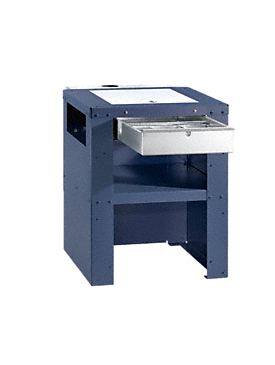 UG 5005-75 FFK - Plinth With fluff filter for filtering fluff and objects out of the suds.--Octoblue