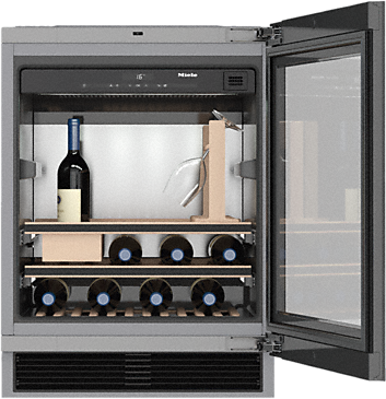 KWT 6312 UGS - Built-under wine storage unit for perfect enjoyment and timeless design with its Push2open and SommelierSet.--NO_COLOR