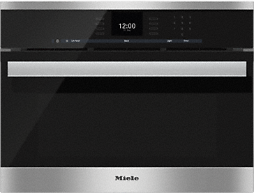 DGC 6600-1 - Steam oven with full-fledged oven function and XL cavity combines two cooking techniques - steam and convection.--Stainless steel/CleanSteel