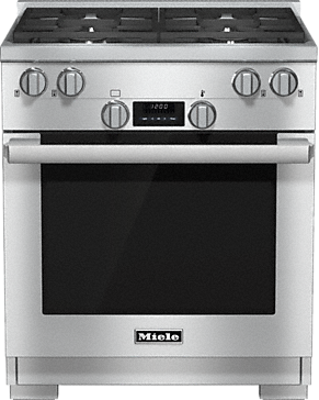 HR 1124 LP - 30 inch range All Gas with DirectSelect, Twin convection fans and M Pro dual stacked burners--Stainless steel