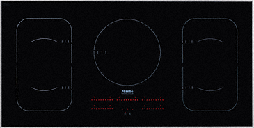 KM 6377 - Induction Cooktop in maximum width for the best possible cooking and user convenience.--NO_COLOR