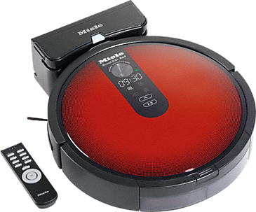 Scout RX1 Red - SJQL0 - Robot vacuum cleaner with systematic navigation.--Mango red