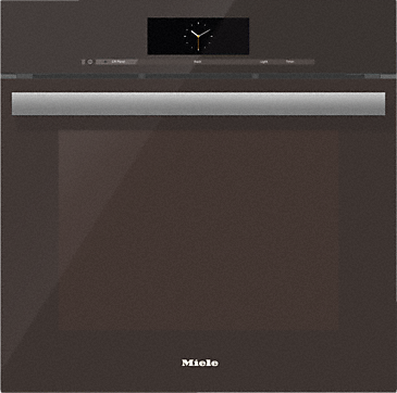 DGC 6865 AM - Steam oven with full-fledged oven function and XXL cavity - the Miele all-rounder with mains water connection for discerning cooks.--Havana brown
