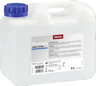 ProCare Dent 10 MA - 5 l - Liquid detergent, mildly alkaline, 5 l for optimum reprocessing of dental instruments.--stainless steel exterior