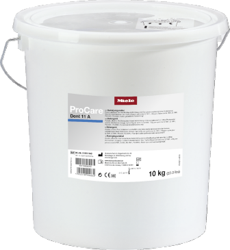 ProCare Dent 11 A - 10 kg - Powder cleaning agent, alkaline, 10 kg for optimum reprocessing of standard instruments.--stainless steel exterior
