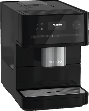 CM 6150 - Countertop coffee machine with OneTouch for Two for the ultimate coffee enjoyment.--Obsidian black