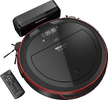 Scout RX2 - SLQL0 00 - Robot vacuum cleaner with optimum cleaning performance and app-based control.--Mango red