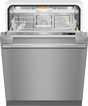 G 6785 SCVi SF AM - Fully-integrated, full-size dishwasher with hidden control panel, 3D+ cutlery tray and CleanTouch Steel panel--Stainless steel/CleanSteel