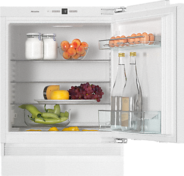 K 31222 Ui - Built-under refrigerator Compact design with a practical interior layout.--White