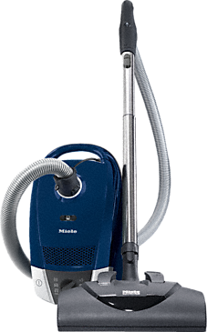 Compact C2 Electro+ PowerLine - SDCE0 - canister vacuum cleaners with electrobrush for thorough cleaning of heavy-duty carpeting.--Marine Blue