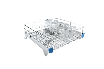 APLW 096 - Upper basket For the optimum loading of wide-necked laboratory glassware.--NO_COLOR