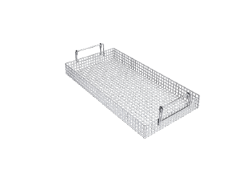 AK 12/1 - Mesh Basket for holding different utensils.--stainless steel exterior