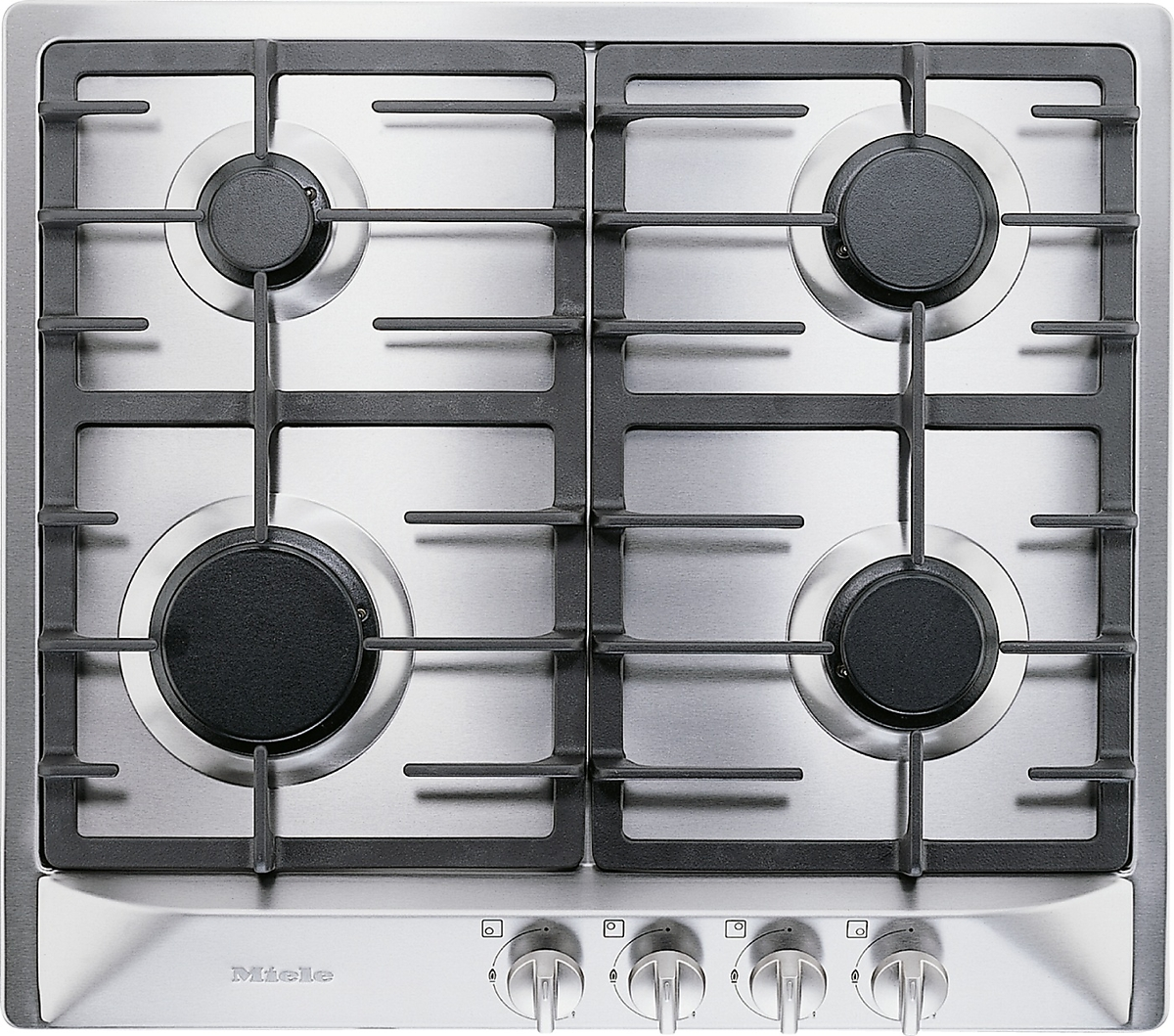 km 360 g gas cooktop with 4 steel