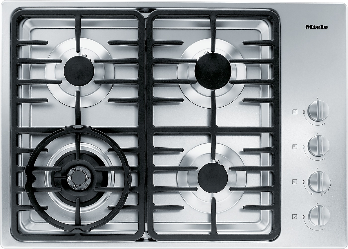 km g gas cooktop with a dual wok burner for wide ranging burner