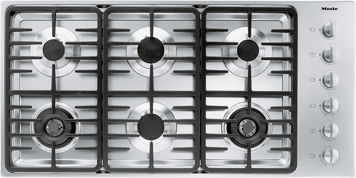 km g gas cooktop with 2 dual wok burners for versatile cooking convenience