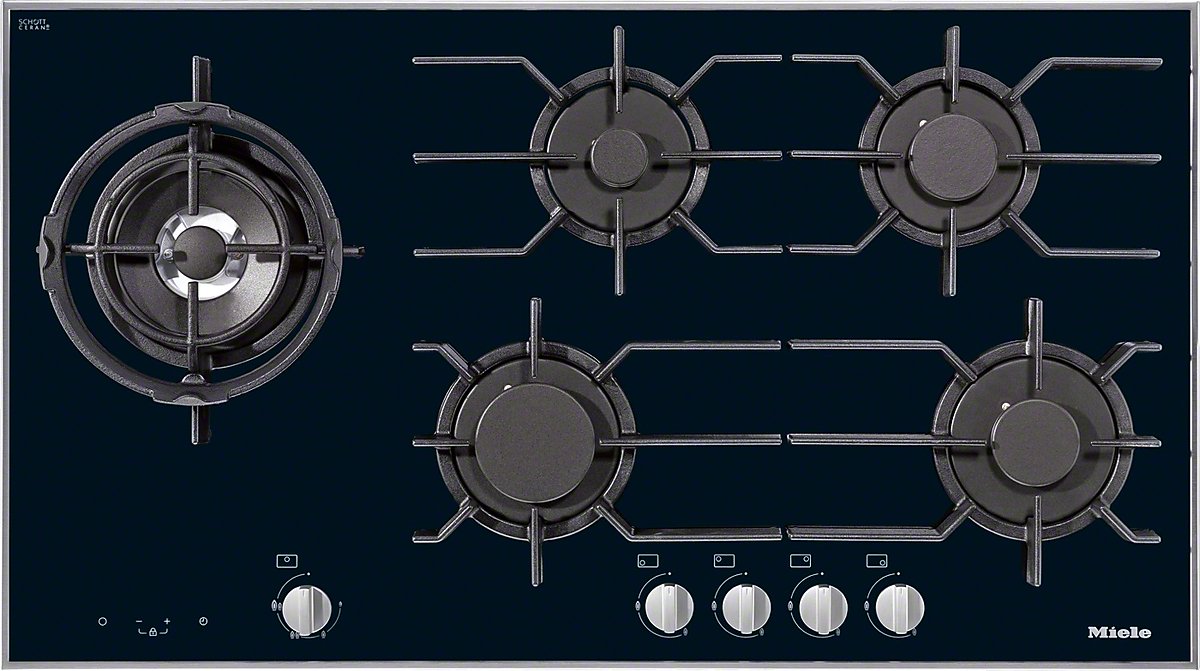 Elegant KM 3054 LP   Gas Cooktop With Electronic Functions For Maximum Safety And  User Convenience.