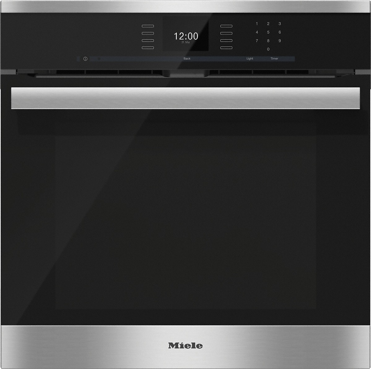 miele h 6660 bp am 24 inch convection oven. Black Bedroom Furniture Sets. Home Design Ideas