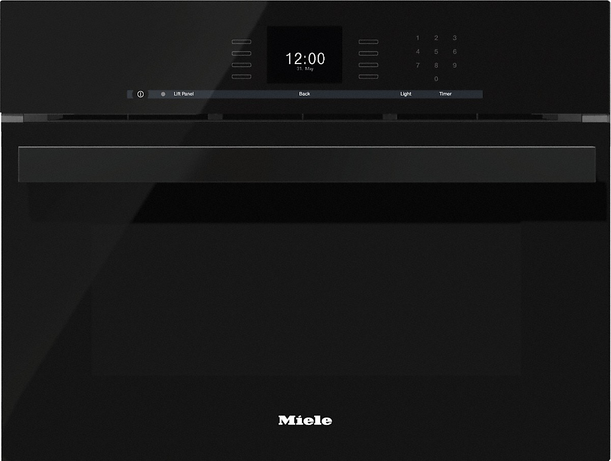 miele dgc 6600 1 steam oven with full fledged oven function and xl cavity. Black Bedroom Furniture Sets. Home Design Ideas